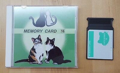 Janome Embroidery Memory Card #16