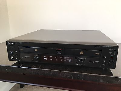 Sony RCD-W10 Compact Disc Recorder Burner Changer CD Player FULLY TESTED