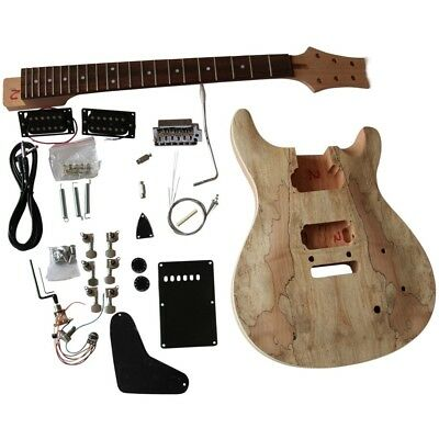 GD-830 Mahogany arch top body with Spalted Maple Veneer with Ebony fingerboard +