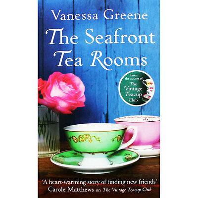 The Seafront Tea Rooms by Vanessa Greene (Paperback), Fiction Books, Brand New