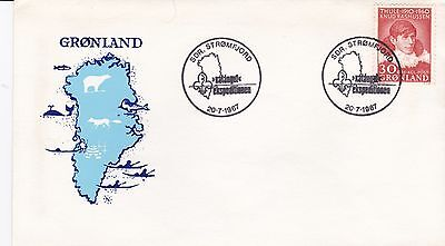 Commemorative cover, Greenland, Katangut Expedition, 1967