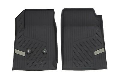2015-2018 Colorado GM Black Frt All Weather Full Coverage Floor Liners 84370635