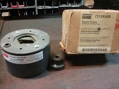 Dayton Model 5X400 Magnetic Disc Brake **New**