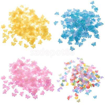 Sparkling Butterfly Wedding Party Confetti Table Decor DIY Craft Approx.200pcs