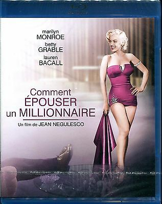 Lot de 3 blu ray Marilyn Monroe neuf sous blister