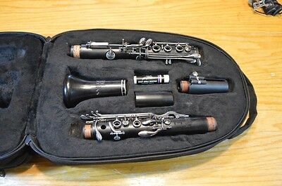 Leblanc Backun Bliss Wooden Clarinet Usa W/backpack Case Nice!