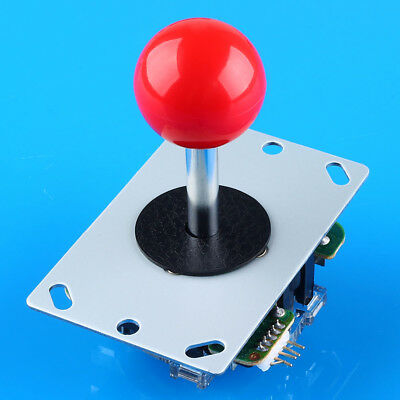 New Arcade DIY Kits Parts USB Encoder To PC China Sanwa Joystick + Red Buttons