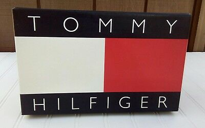 Vintage 90's Tommy Hilfiger womens shoe box only empty bed