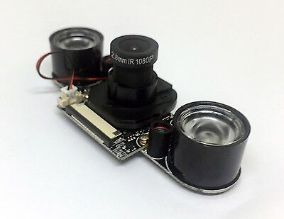 Raspberry Pi Night Vision IR-CUT 5MP Camera Module 100 Degree Wide Angle