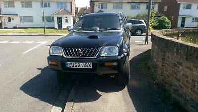 Mitsubishi L200 MK 2 2.5 TD Warrior Limited Edition Crewcab Pickup 4dr