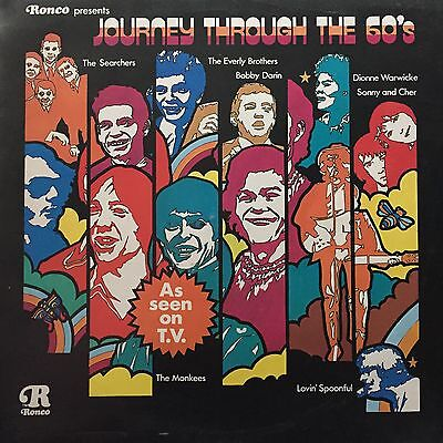 Journey Through The 60's - Ronco Compilation LP