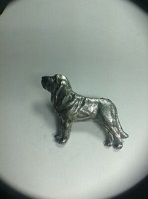 Bloodhound Dog Pin Made Of Fine Pewter