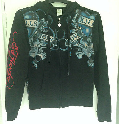 Ed Hardy by Christian Audigier, Graphic Hoodie size XL, Pit to Pit 19 inches