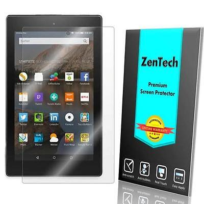 2X ZenTech® Tempered Glass Screen Protector For Amazon Fire 7 (7th Gen, 2017)