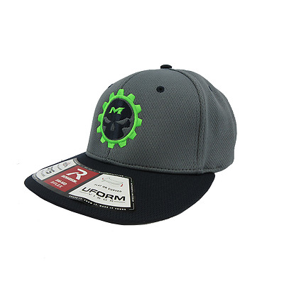 Miken Psycho Hat by Richardson PTS40 Navy/Char/Char/Neon SM/MD