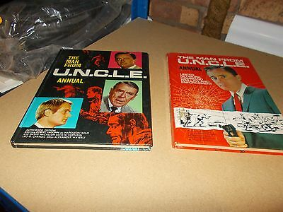 The Man From Uncle Annual X2 1966 & 1967