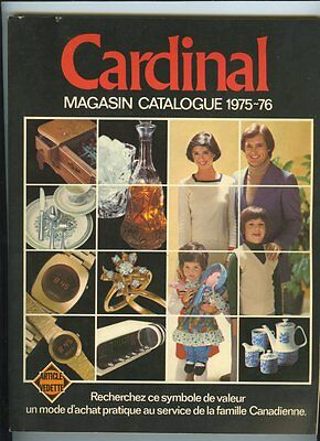 French CARDINAL 1975-76 Store Catalog 228 Pages ~ Unused