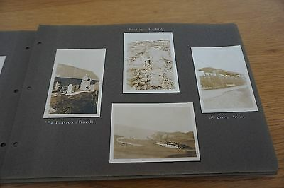 1930s  vintage  photo album  101 PHOTOS   LLANDUDNO /  WALES AND MORE