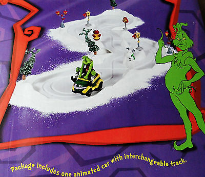 Dept 56 Dr. Suess Grinch Herky-jerky Whomobile #59086 boxed 2002