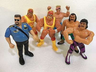 WWF WRESTLING HULK HOGAN action figure 1990/91 Titan Sports Hasbro Galoob