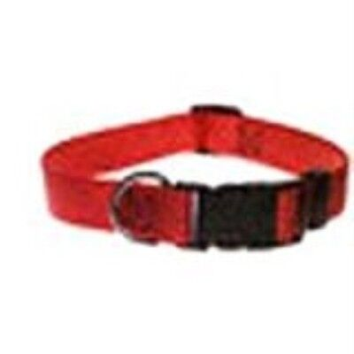 ASPEN PET PRODUCTS 20806 Nylon Adjustable Collar, 16 to 26-Inch, Red