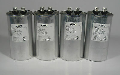 ONE (1) ASC JAPAN X386S CAPACITORS 100uF 370VAC METALLIZED POLYPROPYLENE IN OIL