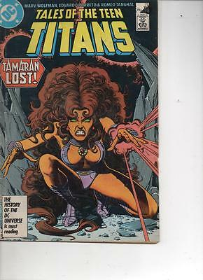 Tales Of The Teen Titans 77 May 1987 Good Plus