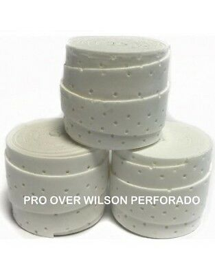 WILSON PRO PERFORADOS overgrip's pack 3 unidades