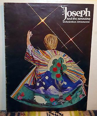 Joseph & the Amazing Technicolor Dreamcoat Program, David Cassidy 1983-84
