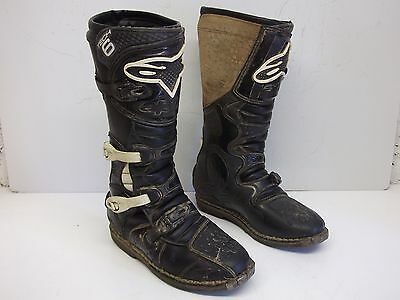 Alpinestars Tech 6 Enduro Bike Motocross & Off-Road Boots Size EU 44.5