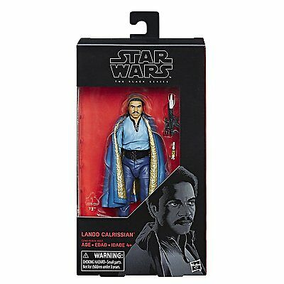 Lando Calrissian Actionfigur Black Series 6 inch Wave 11, Star Wars Hasbro