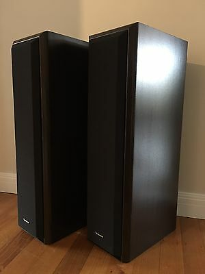 Vintage TECHNICS 3 Way Hifi Audio Floor Speakers Made In Spain Rare SB-M500
