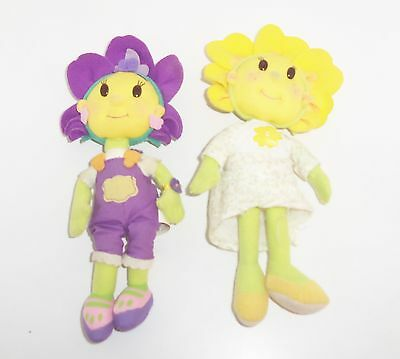 "8""  soft  violet from fifi and the flowertots pms plush doll"