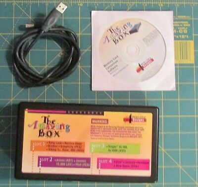 Amazing Designs The Amazing Box Embroidery Card Converter BOX USB + Software
