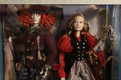 Disney Alice And Mad Hatter Limited Edition Alice Through The Looking Glass