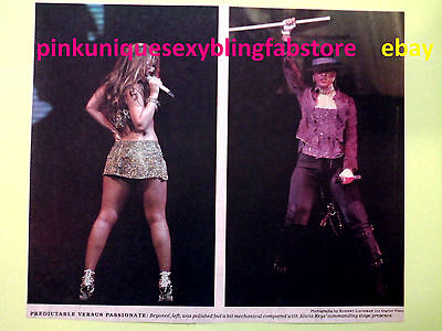 Alicia Keys Vs Beyonce Bootylicious New Music Concert Diva Collectable Vintage
