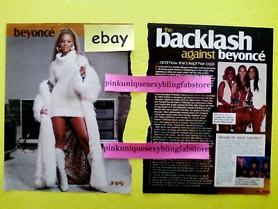 Beyonce Destiny's Child J-14 Magazine Tlc Lisa Left Eye Lopes Vintage Clipping