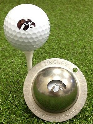 Tin Cup University of Iowa Golf Ball Custom Marker Alignment Tool