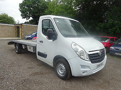 Vauxhall Movanno 2011/61 recovery truck car transporter 117,000 miles new body