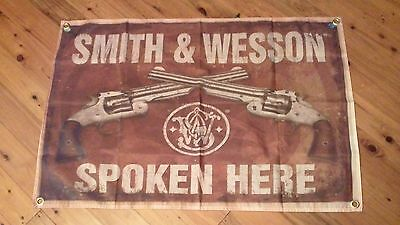 smith and wessen man cave sign 3x2foot holden mancave flag. harley davidson bike