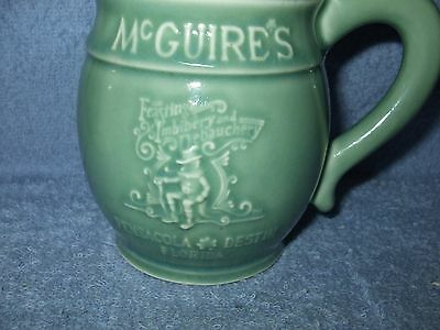 McGuires Irish Pub and Brewery Destin, Florida Collectible Beer Stein great cond