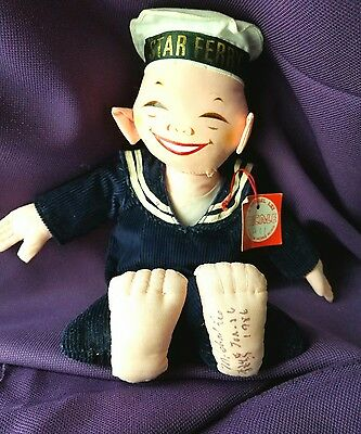 """Signed, """"Last Doll Maker"""" Michael Lee Micale Doll, handmade, Star Ferry, 1986"""