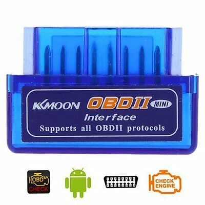 Docooler Mini V2.1 OBD2 Bluetooth Car Diagnostic Scanner Tool