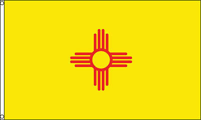 3x5 New Mexico Flag 3'x5' House Banner grommets super polyester USA Seller