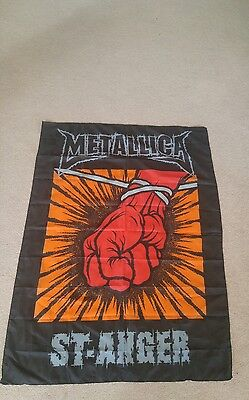 Metallica St Anger banner flag