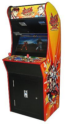 Arcade Rewind 2019 In 1 Upright Arcade Machine With Street Fighter Cabinet
