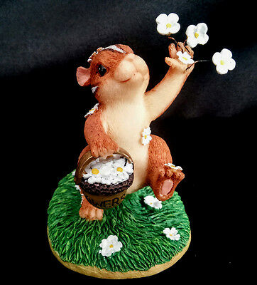 Charming Tails Dean Griff collectible figurine Wedding Day Blossoms 82/105