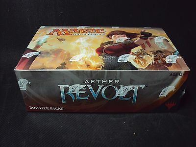 Magic the Gathering Aether Revolt Factory Sealed Booster Display Box