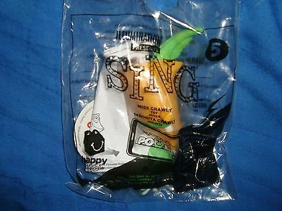 Mcdonalds Sing Happy Meal Toy #5 MISS CRAWLY NIP