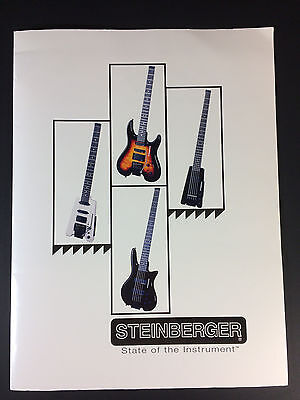 Steinberger Guitar and Bass Catalog 1990's